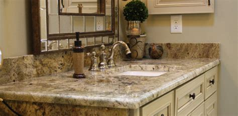 granite top for bathroom vanity 5 best bathroom vanity countertop options