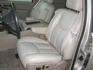 Seat Covers For Escalade 2003 Cadillac Escalade Ext Genuine Leather Seat Covers