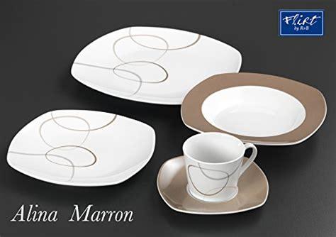 della marca maron ritzenhoff breker 593808 servizio di piatti alina
