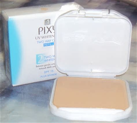 1 Set Bedak Pixy bedak pixy uv whitening two way cake lidbeautymall my