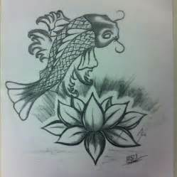 Koi Fish And Lotus Flower Koi Fish N Lotus Flower By Jerome781 On Deviantart