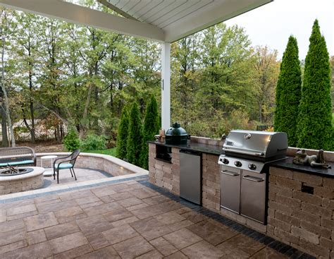 outdoor kitchens and bars moscarino outdoor creations