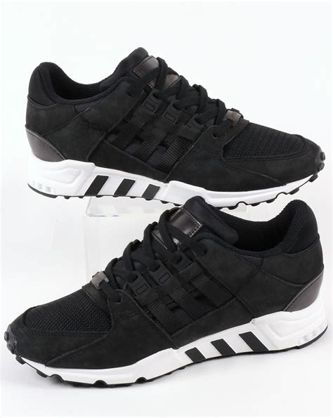 adidas eqt black adidas eqt support rf trainers black black originals