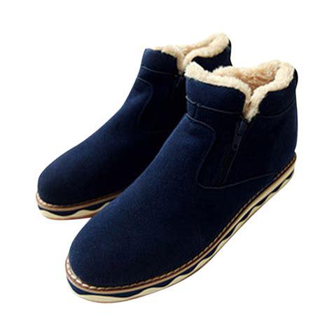 mens zipper winter boots yu boots