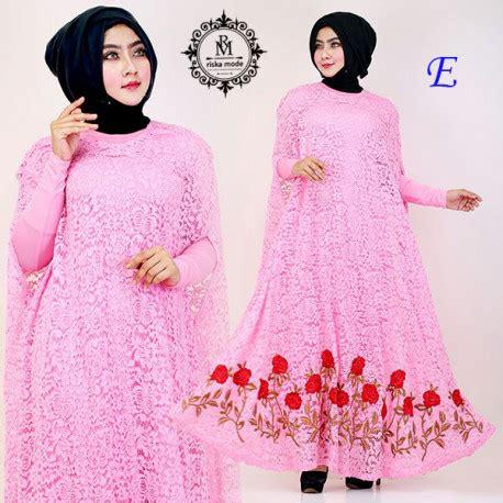 A01298 Dress Reina Black Bahan Kaos Spandek Fit L Ld 92 Pj128 kaftan nagita slavina e pusat busana gaun pesta muslim modern