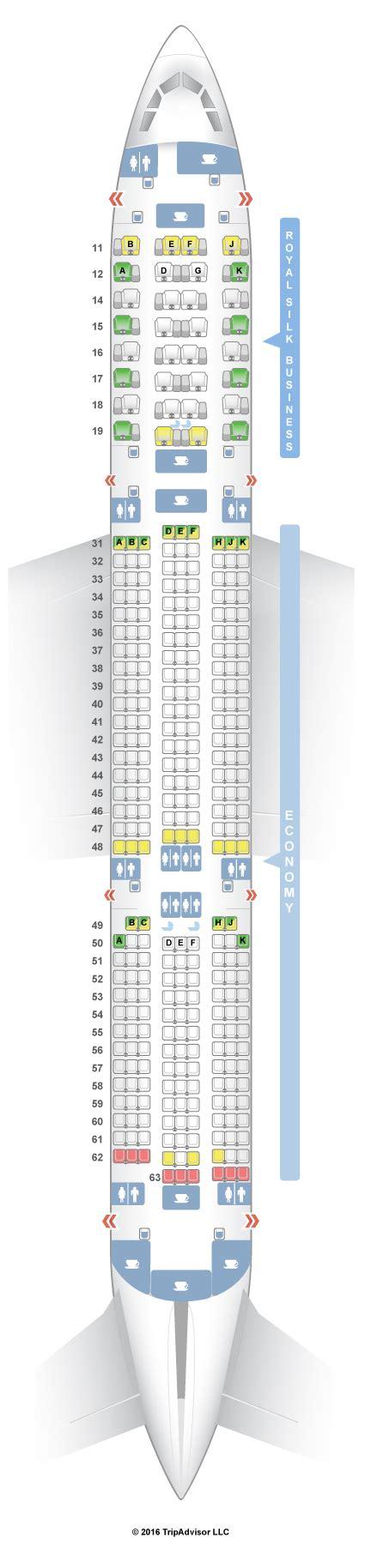 thai air a380 seat map seatguru seat map thai airbus a350 900 359