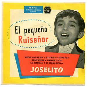 title el ruisenor 8424155270 joselito el peque 241 o ruise 241 or vinyl at discogs