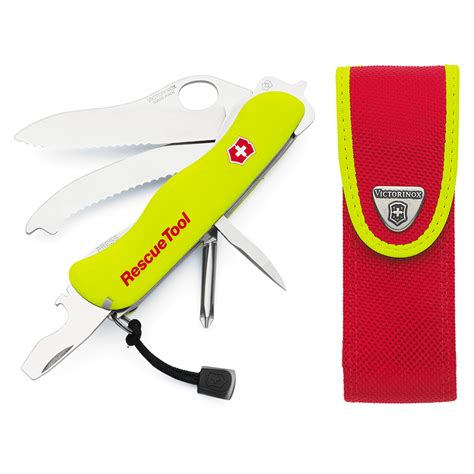 swiss army rescue tool victorinox swiss army rescue tool with sheath s