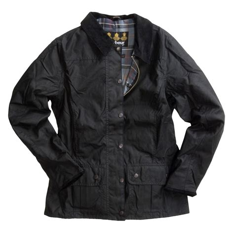 womens barbour waxed cotton utility jacket barbour barbour utility jacket for women 2031a save 39