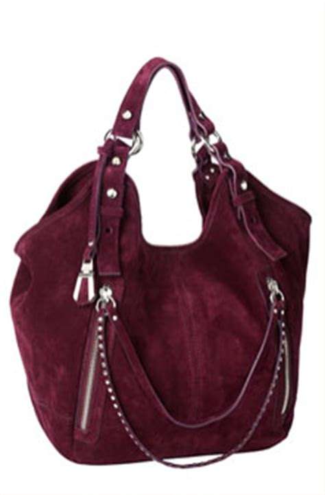 Via Repubblica Square Shopper by Via Repubblica Swag Studded Zip Pull Suede Shopper Bag Bible