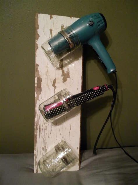 Hair Dryer Organizer Diy diy hair styling tool holder bathroom organization diy hair hair style and