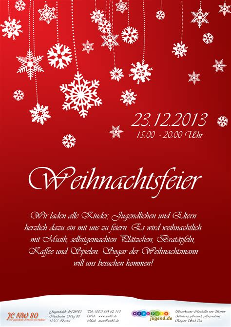 Kostenlose Vorlage Für Einladung Zur Weihnachtsfeier Weihnachtsfeier 2013 Jugendclub Nw80 Berlin Rudow Jugendclub Nw80 Berlin Rudow