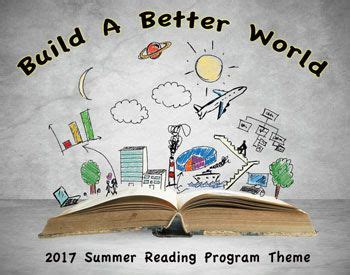5 themes of reading library summer reading program songs build a better world