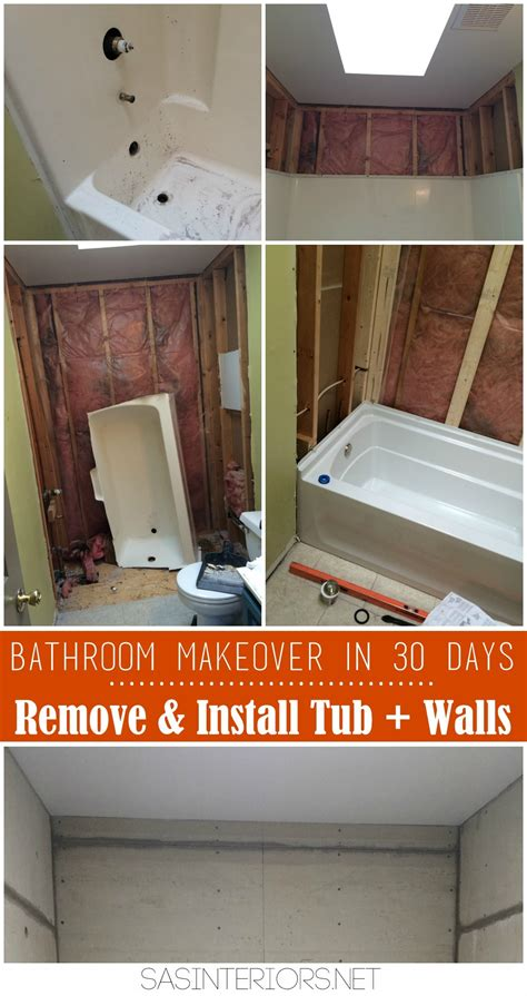 Bathroom Makeover In A Day Bathroom Makeover Demo Day 2 4 Burger