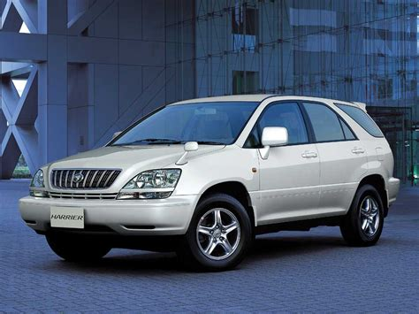harrier lexus model 1999 toyota harrier clublexus lexus forum discussion