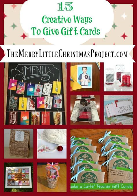 gift card ideas 15 creative ways to give gift cards save more give