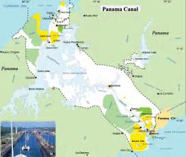 Panama Canal On World Map by Canal Map Related Keywords Amp Suggestions Canal Map Long