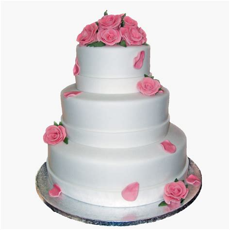 Wedding Cakes Roses by Pink Petal Wedding Cake