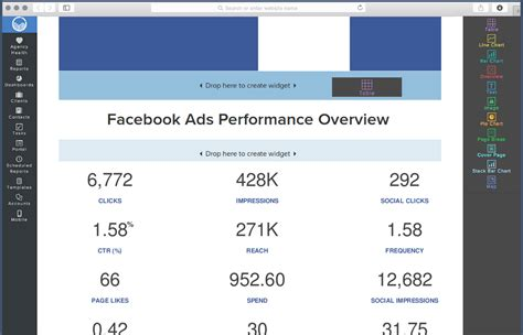 Facebook Ads Report Sle Pdf Reportgarden Ads Report Template