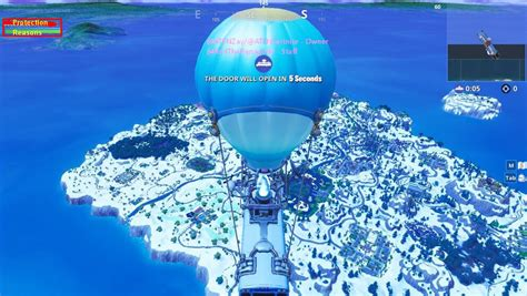 alleged fortnite season  snow themed map leaked