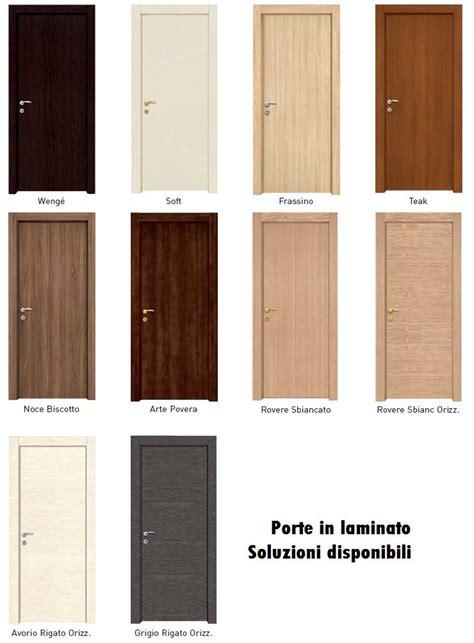 porte interne laminato prezzi porte interne in laminato con cornice complanare infix