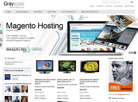 magento ecommerce templates free top 5 best free magento themes 2014