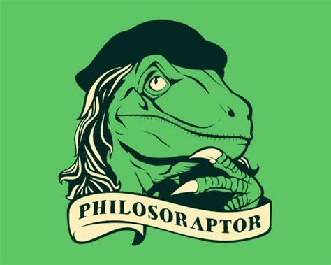 Dino Memes - philosoraptor tshirtvortex