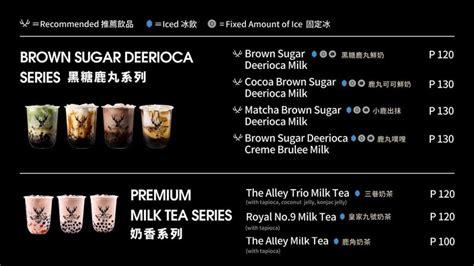 global milk tea franchise  opened   mall  asia nolisoli