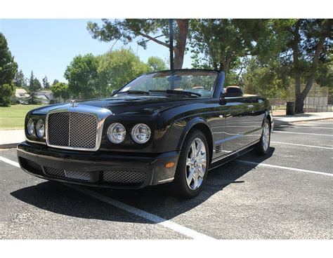 black bentley convertible 2007 black bentley azure convertible