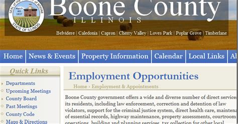 boone county section 8 boone county watchdog employment opportunities boone