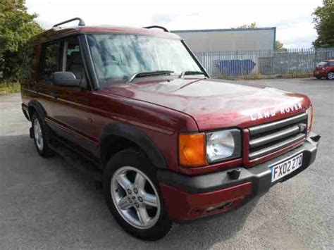 land rover discovery tax 2002 land rover discovery 2 es td5 tax tested 154k s h
