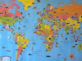 Map Of The World For Kids by World Atlas For Kids