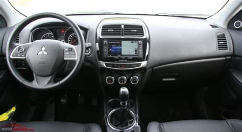 Mitsubishi Asx 2014 Interior by Opini 243 N Y Prueba Mitsubishi Asx 4x2 Precio