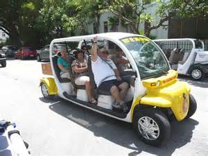 Electric Vehicles Florida Seniors Walking Across America Day 188 Key West Florida
