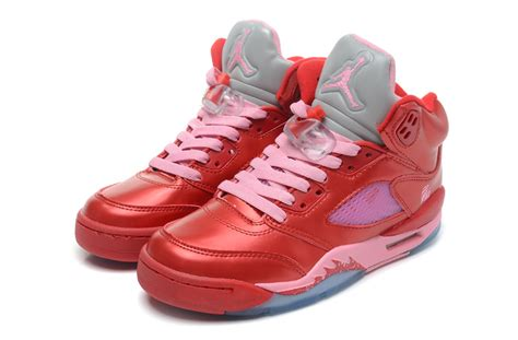 new valentines jordans air 5 retro gs valentine s day ion