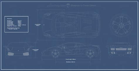 blueprint pdf car blueprints lamborghini gallardo blueprints vector
