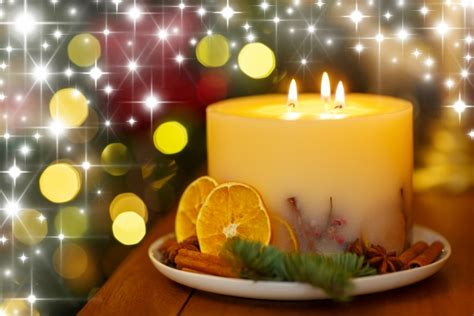 christmas candle  stock photo public domain pictures
