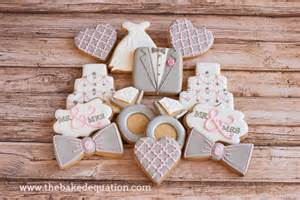 bridal shower cookies the baked equation