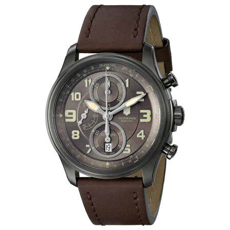 Swiss Army Chrono Brown swiss army 241520 s infantry vintage brown brown
