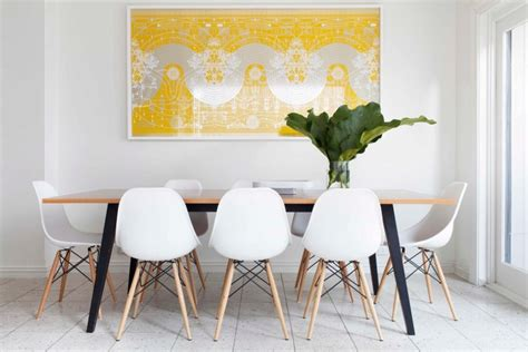 framed art for dining room 20 dining rooms featuring artworks that make all the