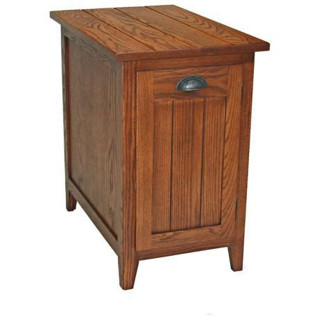 shaker style end table leick furniture shaker style bin cabinet end table