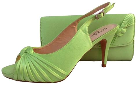 lime green shoes for lime green wedding shoes and matching bag