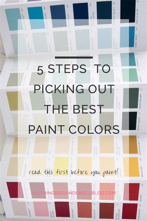 how to select paint colors how to pick out paint colors best tips for picking out the