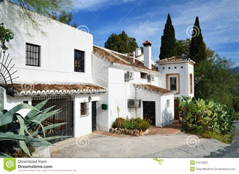 Spanish Style House Plans With Interior Courtyard typical spanish house royalty free stock images image