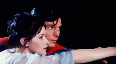 christopher reeve en man of steel superman mort de margot kidder la lois lane de