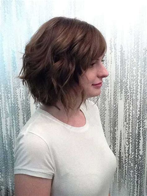 haircut bob wavy hair 10 short hairstyles for thin wavy hair short hairstyles