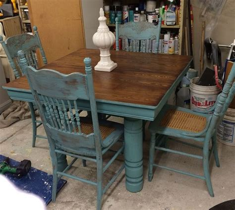 chalk paint kitchen table diy farm table and chair updo hometalk