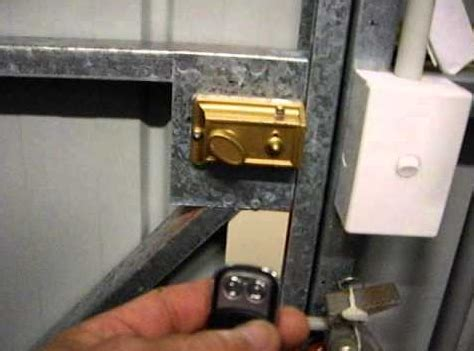 Garage Door Deadbolt Home Security Secure Your Garage The Locksmith Information