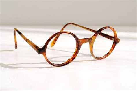small glasses tortoise shell 80s polo ralph