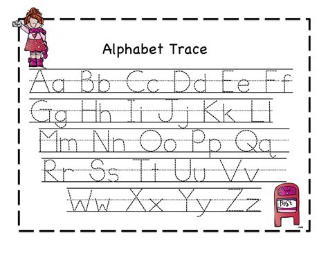 printable worksheets for kindergarten on alphabet preschool printables valentine february ideas